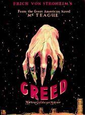 Greed - 1924 - Erich von Stroheim - 4hr Restored Version - Vintage b/w Film DVD