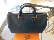 Louis Vuitton handbag Satchel Speedy 25 EPI Authentic VIntage SP 1924 Lockset