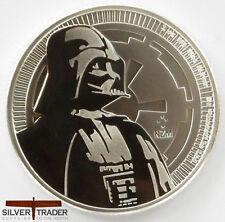 2017 1oz Darth Vader Silver Star Wars 1 ounce Silver Bullion Coin unc: