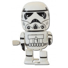 Star Wars : Wind Up Walking Wobbler : Stormtrooper figure new sealed nuovo imbal