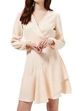Stunning NEW sz 12 Miss Selfridge BLUSH PINK CHIFFON LAYER DRESS, party, wedding