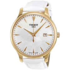Tissot Tradition Mother of Pearl Dial Ladies 42mm Watch T063.610.36.116.01