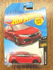 Hot Wheels 2019 2018 Honda Civic Type R New Models