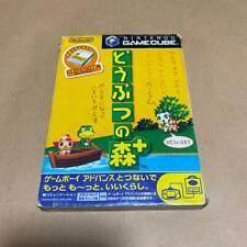 DOBUTSU NO MORI e PLUS Animal Forest Game Cube Nintendo For JP System