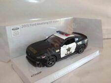 "2015 Ford Mustang GT Police Car Die Cast Metal Model 5""  New In Box"