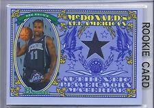 2006-2007 Bowman Basketball Dee Brown McDonalds All American Black Jersey RC