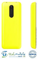 Carcasa Tapa Batería Back Cover Nokia 108 Original 9448544 Amarilla Yellow