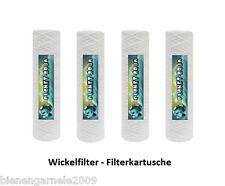 """Vorfilter Sediment Filter 10"""", 5-10-20-50µ Gewickelt Filtereinsatz Wasserfilter"""