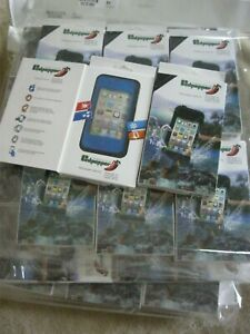 JOB LOT WHOLESALE 8 X REDPEPPER WATERPROOF PHONE COVERS iPHONE 4 BLUE (042)