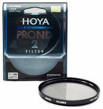 Hoya PROND 58mm ND-2 (0.3) 1 Stop ACCU-ND Neutral Density Filter XPD-58ND2