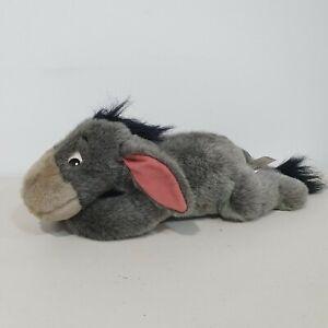 Eeyore Plush Toy Disney Store Detachable Tail Winnie the Pooh Medium Size
