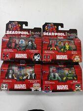 Marvel Minimates Deadpool all 4 sets