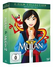 Mulan - Teil: 1 + 2 (Walt Disney Classics) [2 DVD's/NEU/OVP] Im Schuber