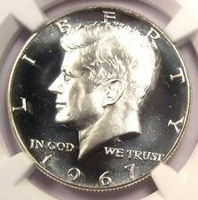 1967 SMS Kennedy Half Dollar 50C - NGC MS67 Ultra Deep Cameo UCAM - $1075 Value!