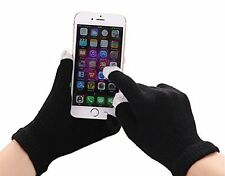 Unisex Winter Touch Screen Magic Gloves with Nylon Fiber Tips for Smart Phones