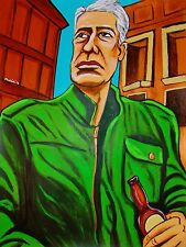 ANTHONY BOURDAIN PRINT poster parts unknown reservations kitchen confidential