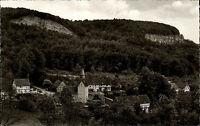 Hitzelrode hessische Schweiz Ansichtskarte ~1950/60 Teilansicht Fachwerkhäuser