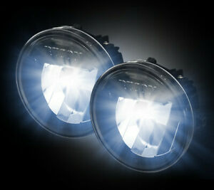 2009-2014 Ford F-150 Direct Fit CREE LED Smoked Lower Fog Lights Lamps Pair