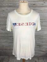 Men's Diesel T-Shirt - Medium - White - Great Condition