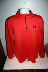 Under Armour Cold Gear Zip Jacket Loose Infrared Pull-Over Sz XXL
