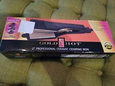 Gold N Hot GH3013 2 inch Professional Ceramic Flat Iron Hair