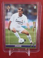 Zinedine Zidane Real Madrid Megacracks 2003/04 Panini Card