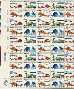 1975 10 cent US Postal Service full Sheet of 50, Scott #1572-1575, Mint NH