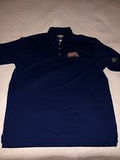 Antigua Super Bowl Xvi golf polo Shirt men's extra Large new without tags blue