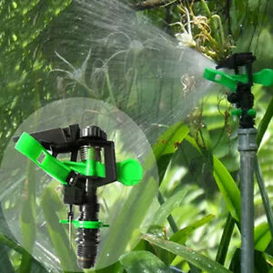 Best 360° Adjustable Water Sprinkler Irrigation Watering Garden Spray Nozzly^lk