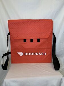 Doordash Authentic Insulated Thermal Pizza/Food Delivery Bag 19x19