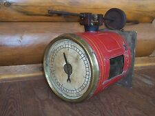 Antique 1882 Bowsher Motion Indicator Flyball Governor Steam Engine Steampunk