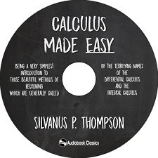 Calculus Made Easy - Unabridged MP3 CD Audiobook in paper sleeve