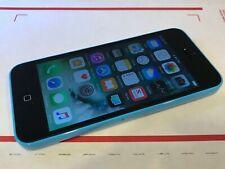 Apple iPhone 5c - 16GB - Blue (Unlocked) A1456 (CDMA + GSM) Good Cond - Works