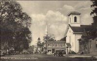 Southington CT Main St. Postcard