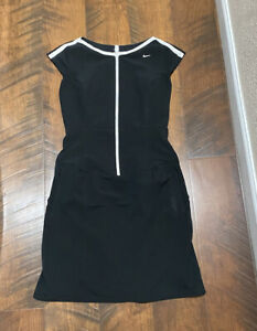 Nike black stretch golf dress women's 4