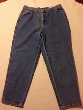 nwt Gitano Relaxed Tapered blue jeans Women's size 18P (waist 36 inseam 29.5)
