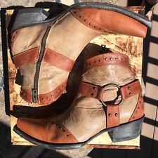 NEW/NIB Old Gringo Chiripa Boots 7 Mango/Bone Harness studded retail $498