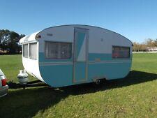 frankilin 14ft vintage caravan (no reserved)