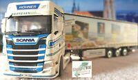 Herpa 071536 WSI Scania CS 20 HD Sattelzug Höhner Raiffeisen TRUCKER BABES 1:50