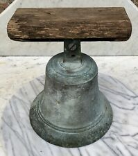 Antique Cast Bronze/Brass Ships Bell.