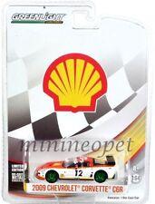 GREENLIGHT 29907 2009 CHEVROLET CORVETTE C6R SHELL OIL RACING 1/64 CHASE CAR