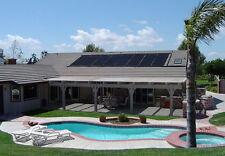 "XLong Inground Above Ground 56""x20' Solar Energy Swimming Pool Sun Heater Panel"