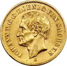 20 Mark Gold Sachsen 1873
