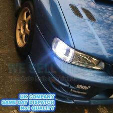 Subaru Impreza Bright LED Side Light 501 W5W 5 SMD White Bulbs GC8 Classic