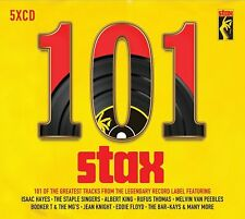 101 STAX (Best Of / Greatest Hits): 5 CD ALBUM BOX SET - Stax records Gift Idea