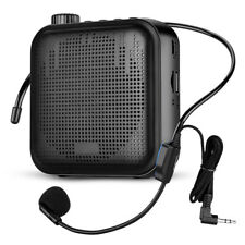More details for portable mini 12w voice amplifier microphone loundspeaker waistband for outdoor