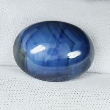 20.70 ct ULTRA RARE UNHEATED - NATURAL BLUE SAPPHIRE - Cabochon See Vdo - 3948 H