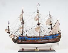 """37.5"""" Long Goto Predestination Painted FULLY ASSEMBLED Wooden Model Ship"""