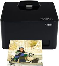 BrandNew Rollei Mobile 20684 WIFI Photo Printer Black Thermal Sublimation Colour