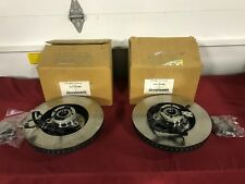 NOS 2004 FORD FREESTAR FRONT ROTORS W/HUBS 4F2Z-1102-AAA 4F2Z-1102-BBB